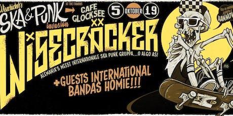 Wisecräcker´s Ska & Punk Invasion Nr. 2 - Hannover Tickets