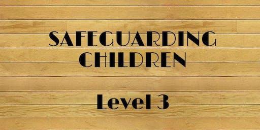 Safeguarding Children training Level 3