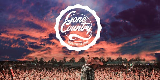 GONE COUNTRY #7 ~ Here for the Cure Cancer Benefit