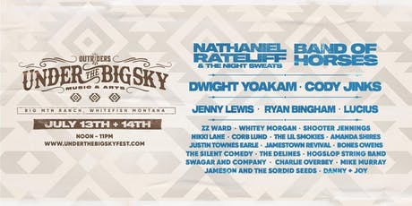 UNDER THE BIG SKY GROUP VIP tickets