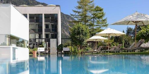 4 Tage Hatha Yoga & Meditation.4*Superior Hotel.Wandern.2000m² Wellness