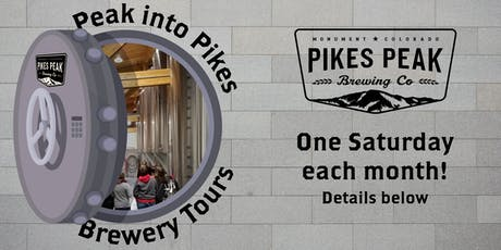 RSVP - Peak Into Pikes Brewery Tours for July 20 tickets