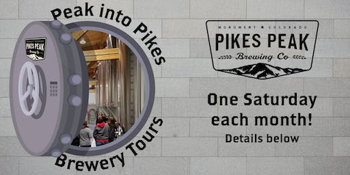 RSVP - Peak Into Pikes Brewery Tours for July 20