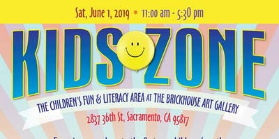 2019 Kids Zone @ the Sacramento Black Book Fair (SBBF)