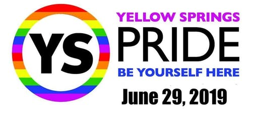 Yellow Springs Pride 2019 Vendor/Sponsor Registration