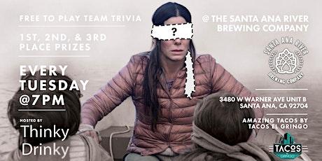 FREE TRIVIA, Tuesdays at Santa Ana River Brewing Company tickets