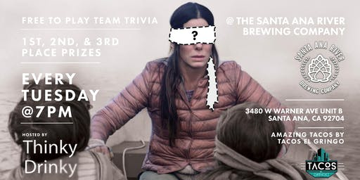 FREE TRIVIA, Tuesdays at Santa Ana River Brewing Company
