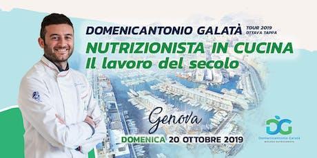 NUTRIZIONISTA IN CUCINA: IL LAVORO DEL SECOLO a Genova biglietti