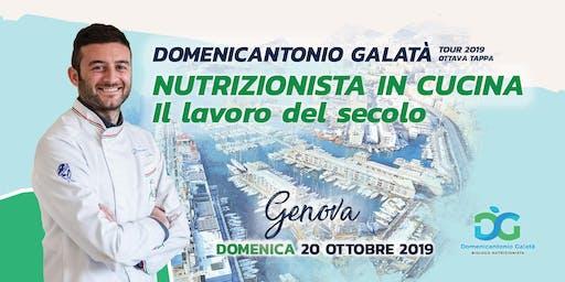 NUTRIZIONISTA IN CUCINA: IL LAVORO DEL SECOLO a Genova