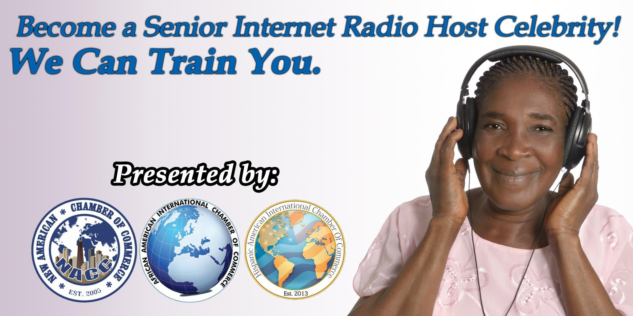 Become a Senior Internet Radio Host Celebrity!