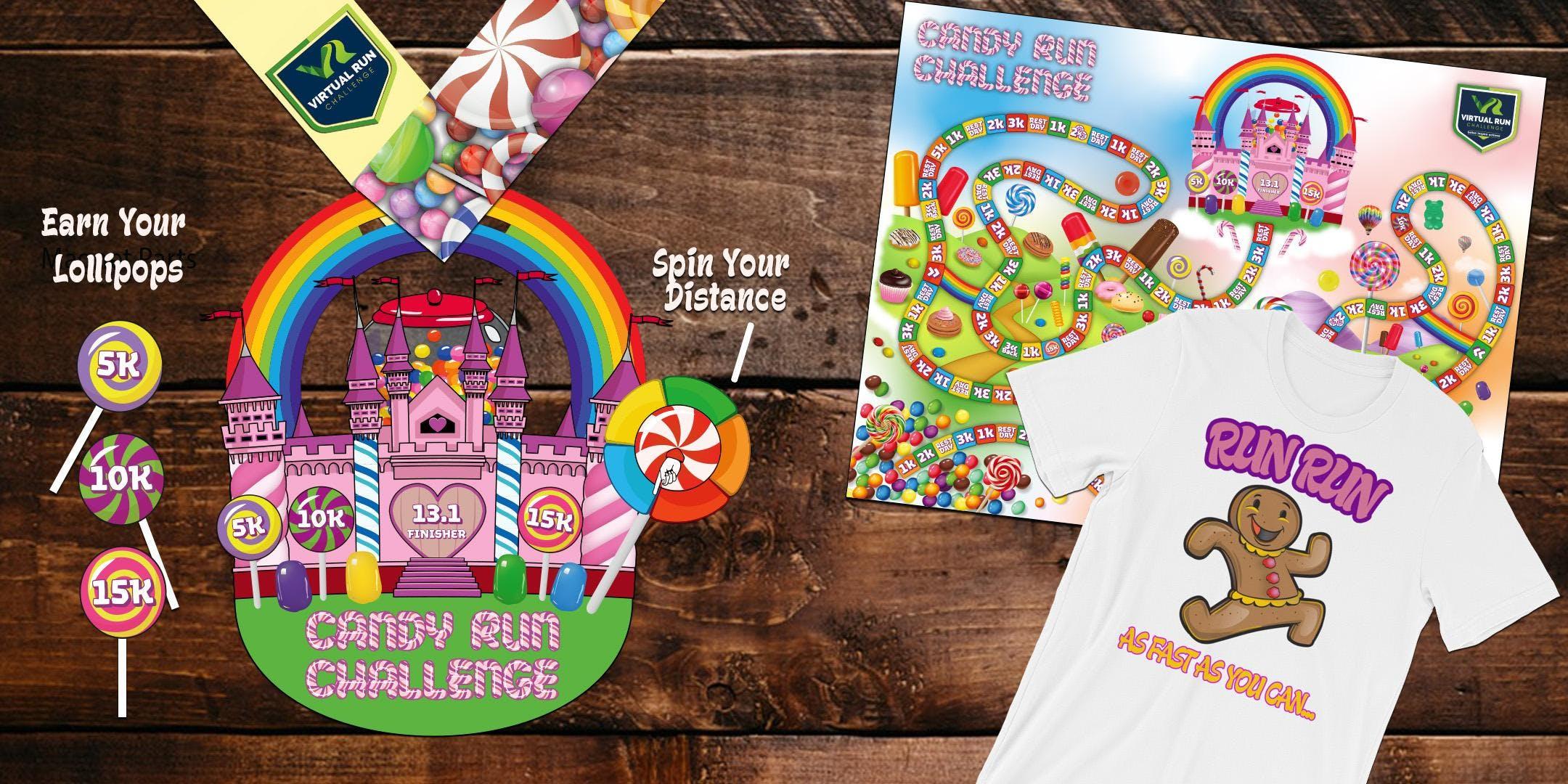 Candy Run/Walk Challenge (5k, 10k, 15k, and Half Marathon) - Scottsdale