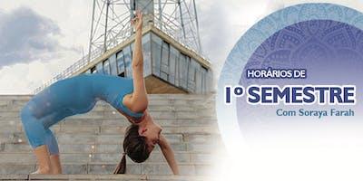 Horários de Yoga - 1 Semestre