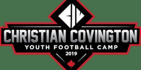 Christian Covington Youth Football Camp 2019 tickets