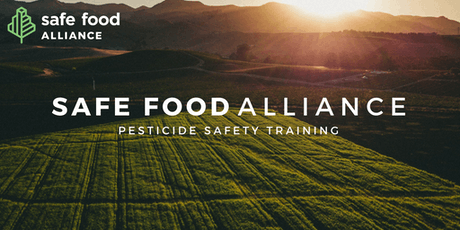 Pesticide Safety Training tickets