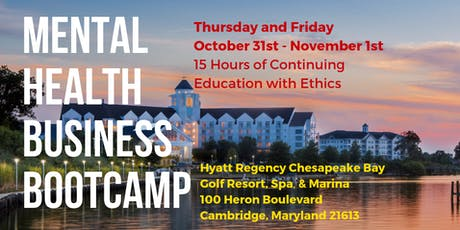 ETHICS Mental Health Business Bootcamp (15 CEs) tickets
