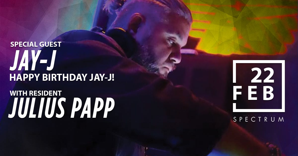 SPECTRUM ft. Jay-J (Birthday Set) & Julius Pa