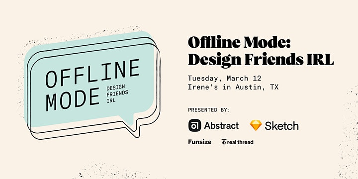 Offline Mode: Design Friends IRL image