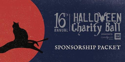 Halloween Charity Ball- 2019 Sponsorship Opportunities