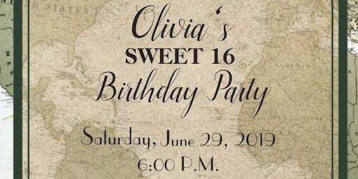 Olivia's Sweet 16!
