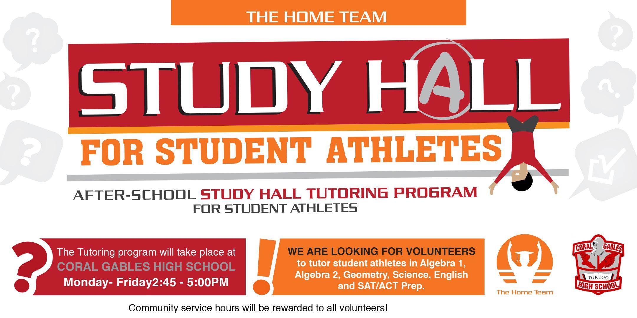 Coral Gables High School Student Athlete Tutoring Program