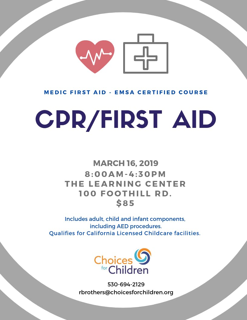 Cpr First Aid Course 16 Mar 2019