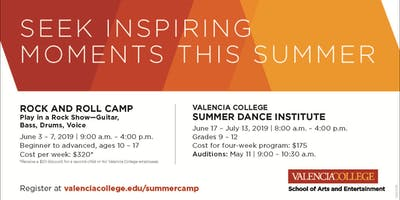 Valencia College Summer Dance Institute 2019