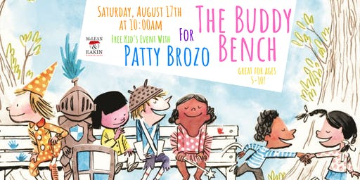 Patty Brozo and The Buddy Bench!