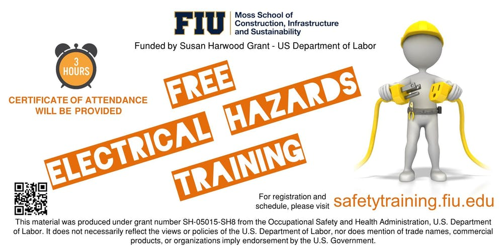 Free Electrical Hazards Training Tickets Sat Mar 23 2019 At 830