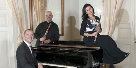 "FESTIVAL MÚSICA  ""CLÀSSICS L'ESCALA-EMPÚRIES"" PIANO TRIO..DE DANSA EN DANSA entradas"