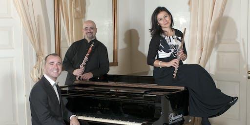 """FESTIVAL MÚSICA  """"CLÀSSICS L'ESCALA-EMPÚRIES"""" PIANO TRIO..DE DANSA EN DANSA"""