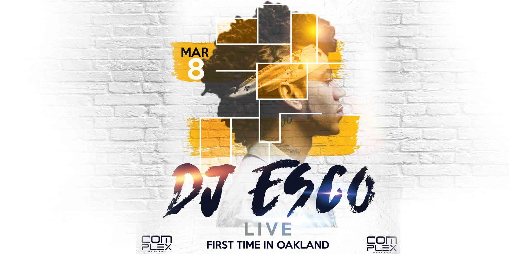 DJ ESCO ( FUTURE DJ) THE COOLEST DJ IN THE WORD LIVE- FIRST TIME IN OAKLAND