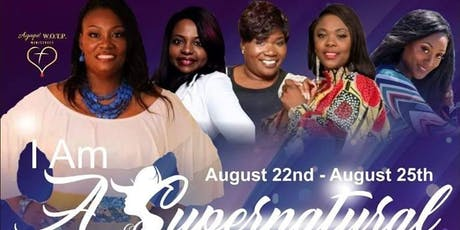 I AM A SUPERNATURAL & PROPHETIC PROVERBS Lady Conference tickets