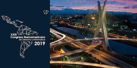 XXIII Congresso Iberoamericano de Direito e Informática ingressos