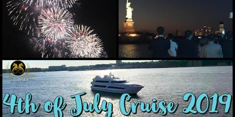 4th of July Fireworks Cruise Aboard Atlantis Yacht NYC tickets
