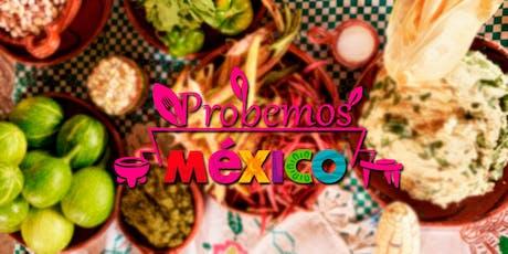 Primer Congreso Nacional de Gastronomía Probemos México los Cabos, BC Sur. entradas