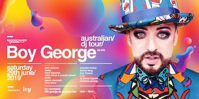 BOY GEORGE (DJ Set) Sydney