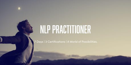 7 Day NLP | Time Line Therapy® | & Hypnosis Practitioner Training tickets