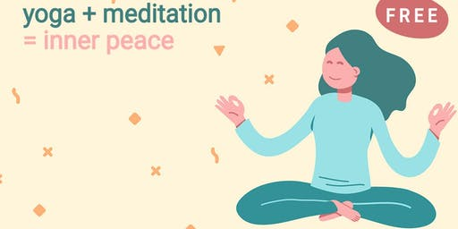 Free: Authentic yoga and meditation