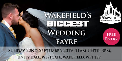 Wakefield's BIGGEST Wedding Fayre