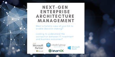 Next-Generation Enterprise Architecture Management