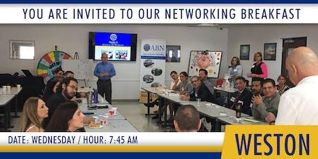 Americas Networking  Breakfast - Weston tickets