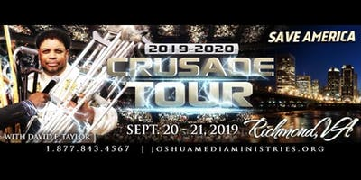 Miracles in America Crusade Tour with David E. Taylor