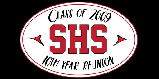 SHS Class of 2009 10-Year Reunion
