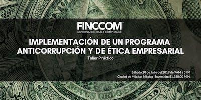 Taller: Implementación de un Programa Anticorrupción y de Ética Empresarial