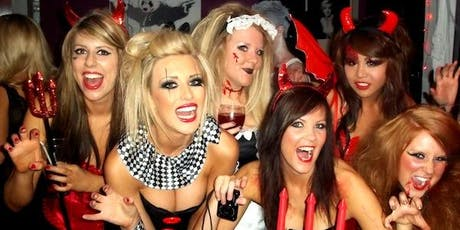 Halloween Bar & Nightclub Crawl w/ 3 Drinks Included  tickets