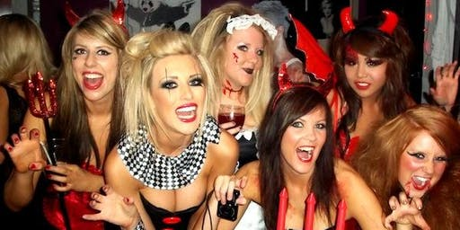 Halloween Bar & Nightclub Crawl w/ 3 Drinks Included