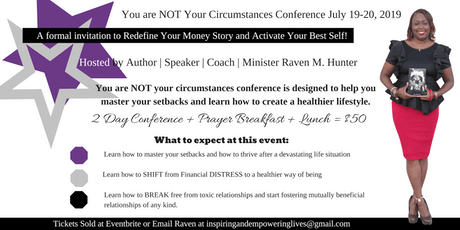 You Are Not Your Circumstances Conference 2019  tickets