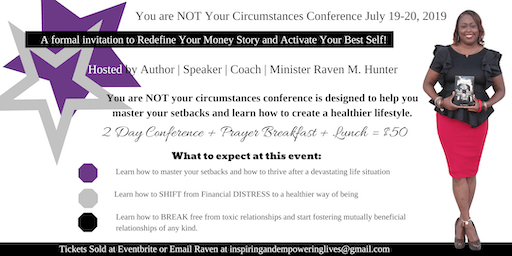 You Are Not Your Circumstances Conference 2019