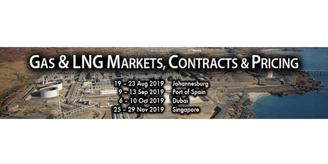 Gas & LNG Markets, Contracts & Pricing - Johannesburg tickets