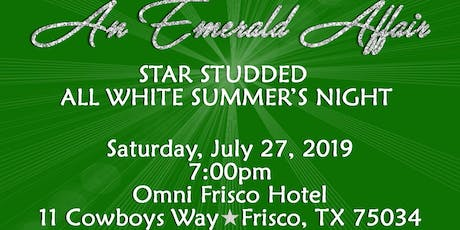 An Emerald Affair Star Studded All White Summer's Night tickets